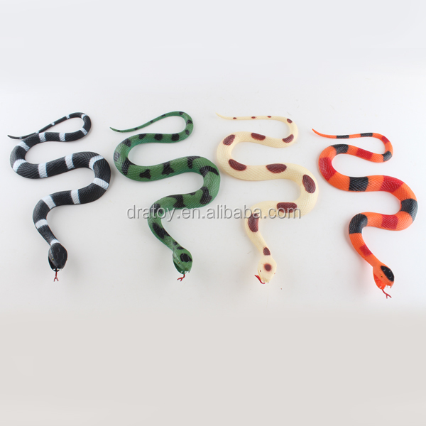 cheap bulk plastic animal tpr snake toy