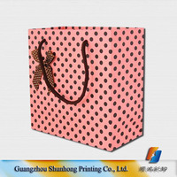 Customized printing personalized paper gift bags your own logo