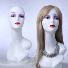 makeup mannequin head with shoulders for wigs display
