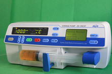 syringe pump manufacturer in Suzhou China with two LED screens
