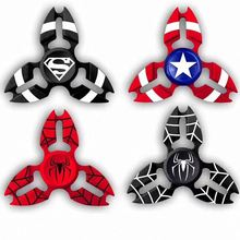 2 Minutes Spin 3D spider man edc hand fidget spinner many designs