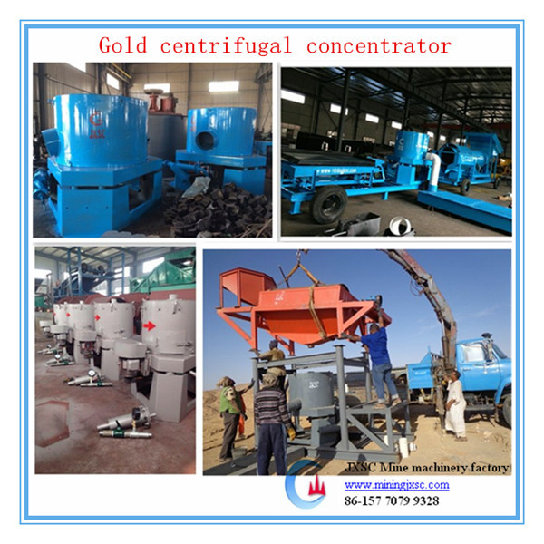 Big deposits gold panning concentrate centrifugal concentrator