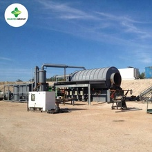 Turnkey project Garbage waste household recycling to oil equipment