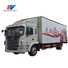 High quality mobile advertising waterproof 4*2 stage truck for sale