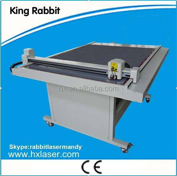 King rabbit 900*1200m CAD flatbed cutter plotter