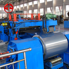 Slitting rewinding coil used slitting line machine