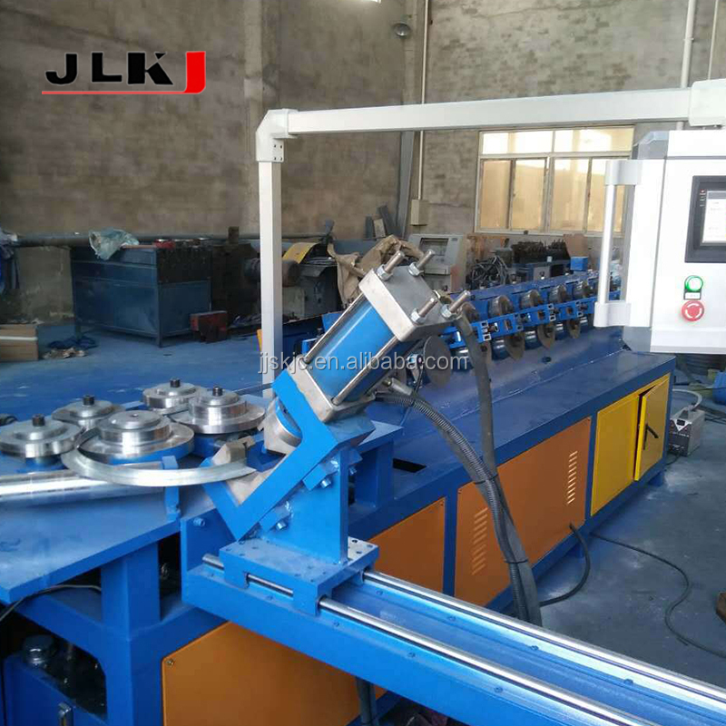 Air Duct Machining Roll Tran Verse Tdc Flange Forming Machine