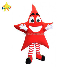 Funtoys CE Promotional Custom Star Mascot Costume For Adult Wearing