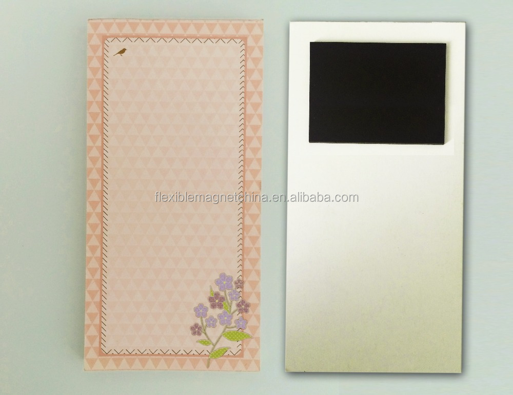 attractive design useful small magnetic memo pad Promotional advertising magnetic memo pad