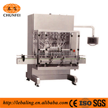 piston pump glass bottle honey packing machine honey liquid filling capping machine