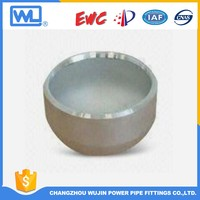 sch40 pipe fittings steel 3 inch pipe cap