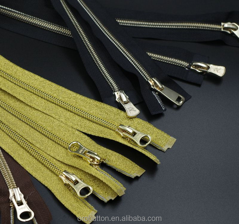 Supply #5 open end cheap price zipper nylon finished