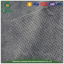 Dotted nonwoven backing fabricfor carpet for decoration