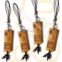 custom recycled and eco-friendly garment wooden/bamboo hang tag