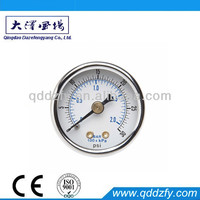 Low price durable water pressure gauge lowes