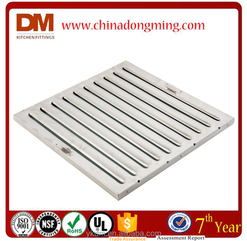 Commercial kitchen baffle grease filter buy commercial for Commercial kitchen grease filters