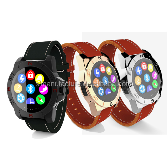 Newest round screen design mulitfunction smart watch for student and young people