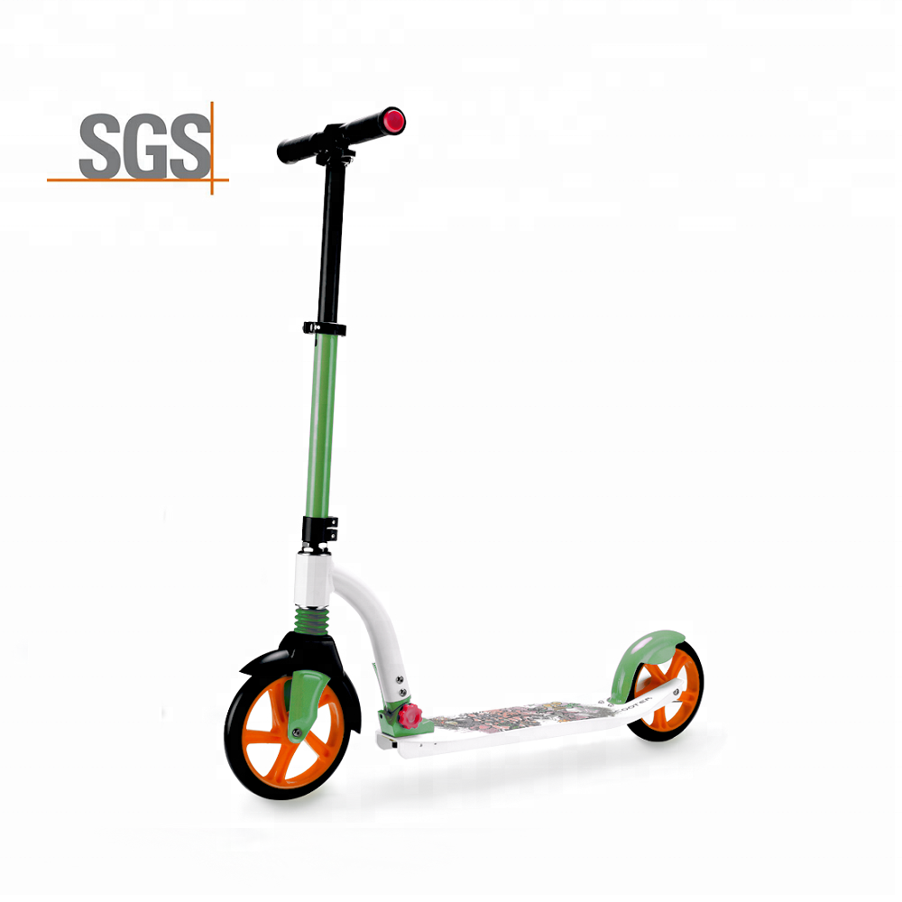 Wholesale lightest stand up adult swing scooter 3 wheel