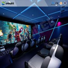 Hot English movie 3D theater system 4D 5D 6D ride cinema film movie supplier