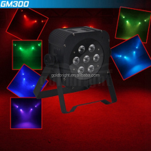 Stage Lights Business Lights Led Flat Par Light 7x 9W RGB DMX KTV