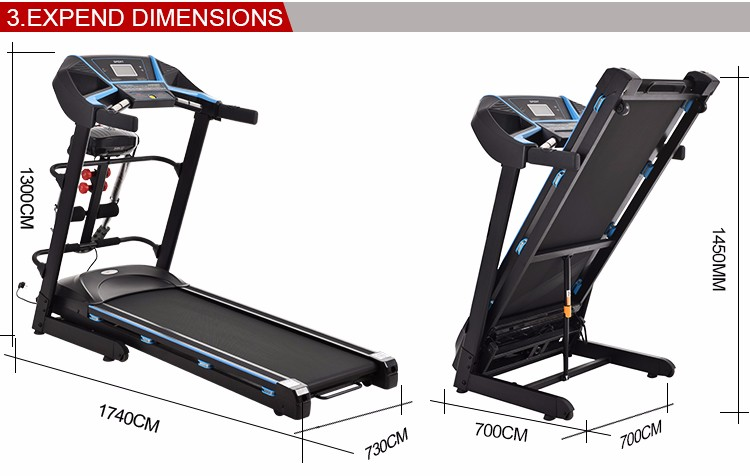 New Arrival Home Used Electric Motorized Treadmill 2.5hp ...