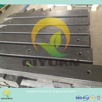 UHMEPE jetty fender pad/ hard wear UHMWPE plastic sheet/ sliding pad