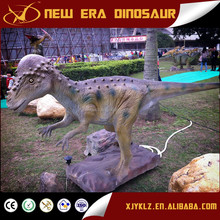 animatronics life size dinosaur for entertainment in shopping mall
