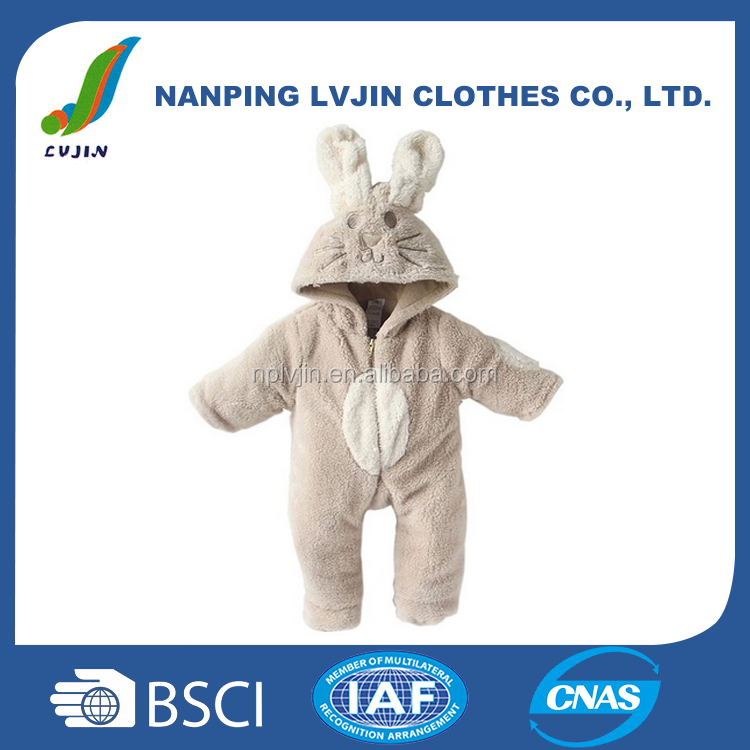 Infant &Tooddlers Baby Boy and Girl Winter Cute Animal Jumpsuits