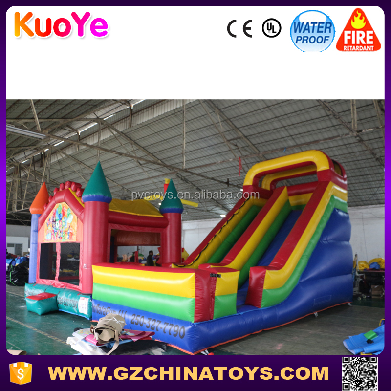 race car shape inflatable bouncer