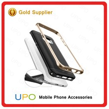 [UPO] 100% original Luxury Hybrid PC Frame + Soft Silicon TPU Protective Back Covers for Samsung Galaxy S7 edge Hybrid Case