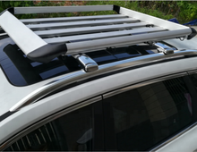 Silver Aluminum Roof Top Luggage Holder/Cargo Carrier Basket for 4X4 SUV