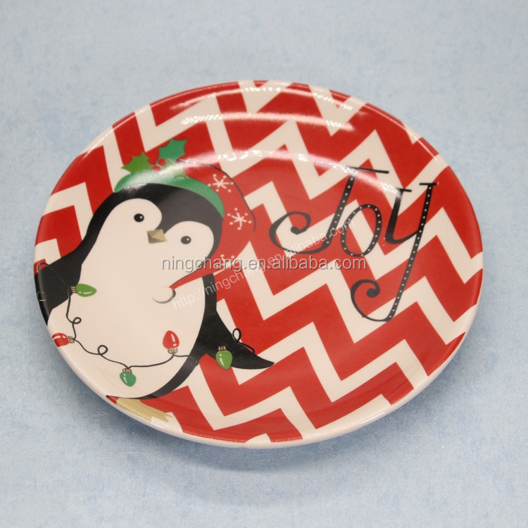 christmas wholesale ceramic plates,modern porcelain dishes,colorful ceramic plates