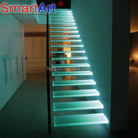 Floating Glass Stairs Price