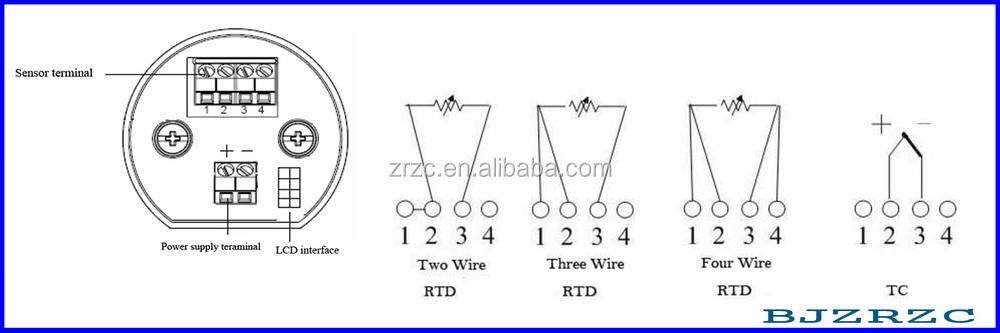 Smart Type Temperature Transmitter For Pt100 Sensor Buy