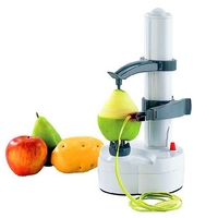 Excellent Quality Portable Automatic Electric Fruit Pear Potato Peeler Stainless Steel Fruit Machine Peeled Tool Home Kitchen