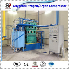 Oxygen Compressor Transfer Gas for Filling Manifold