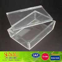 Wholesale Clear Acrylic Nike Shoe Boxes Manufacturer