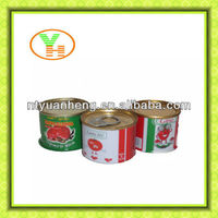 70G-4500G China round empty tin can