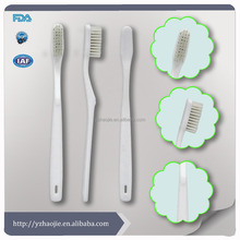 disposable hotel toothbrush with toothpaste in cheap price