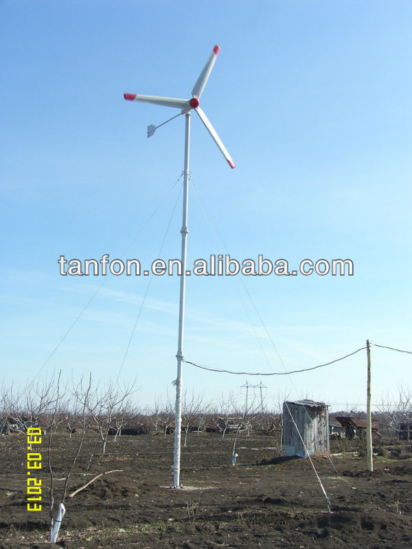 2KW wind generator motors for sale/2000w wind generator/2kw generatore eolico vertical/electric generating windmills for sale