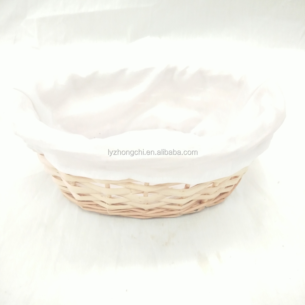 Easter Handle Cheap Basket Wicker Empty Gift Basket