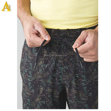 custom mens sweat athletic gym shorts printed mens running shorts