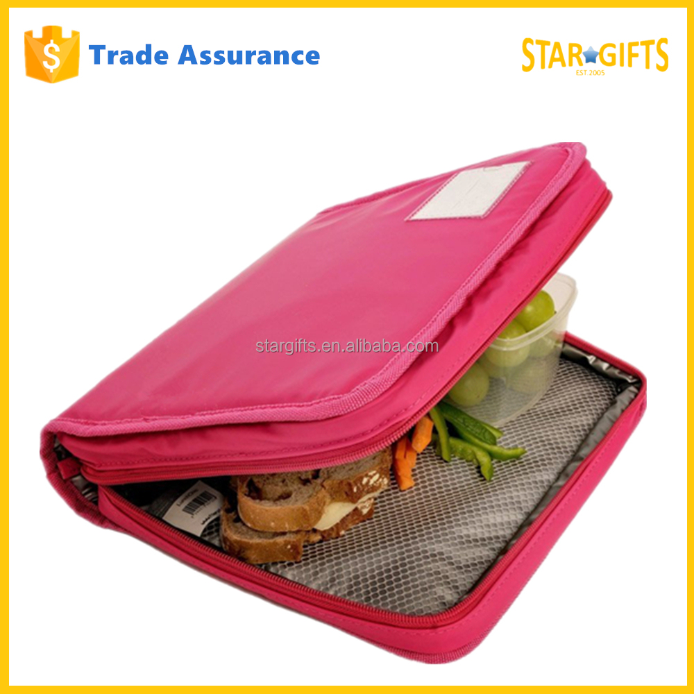 2016 New Style Wholesale Elegant Portable Thermal Decorative Lunch Box Bag