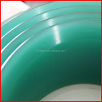 retail green color rubber squeegee or green color squeegee printer scraper