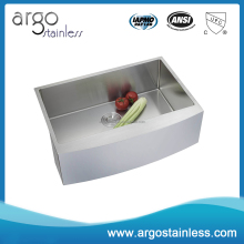 New arrival best selling cheap farmhouse sink, 16 gauge 304 stainless steel apron sink