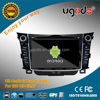 Android 7 inch 2 din HD touch screen Hyundai Car stereo for Hyundai I30 car