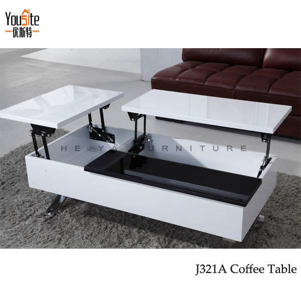High Gloss Modern Lift Top Coffee Table Mechanism View Coffee Table Mechanism Yousite Product
