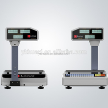 weight scale RS232, connect to PC and printer, with software