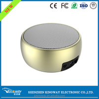KB-108 Metal & ABS material Mini wireless speaker with bluetooth handsfree function,auto memory last song