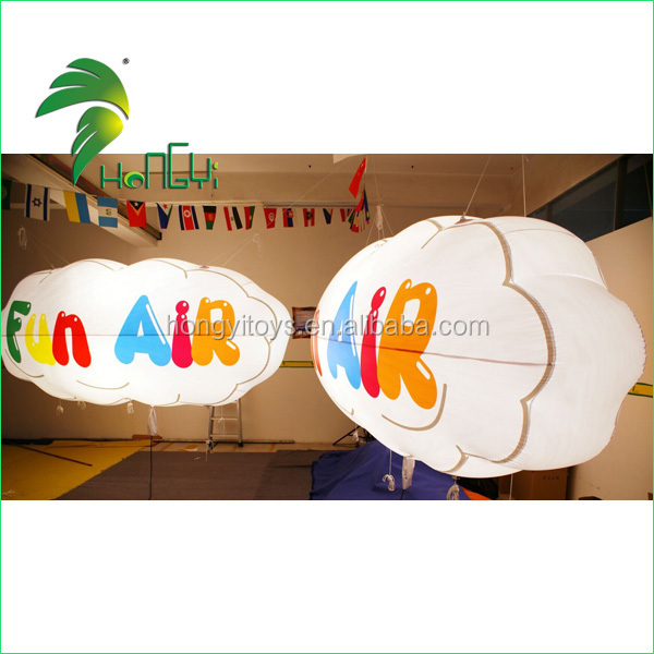 Led Light Advertising Cloud Balloon/Inflatable Cloud Light